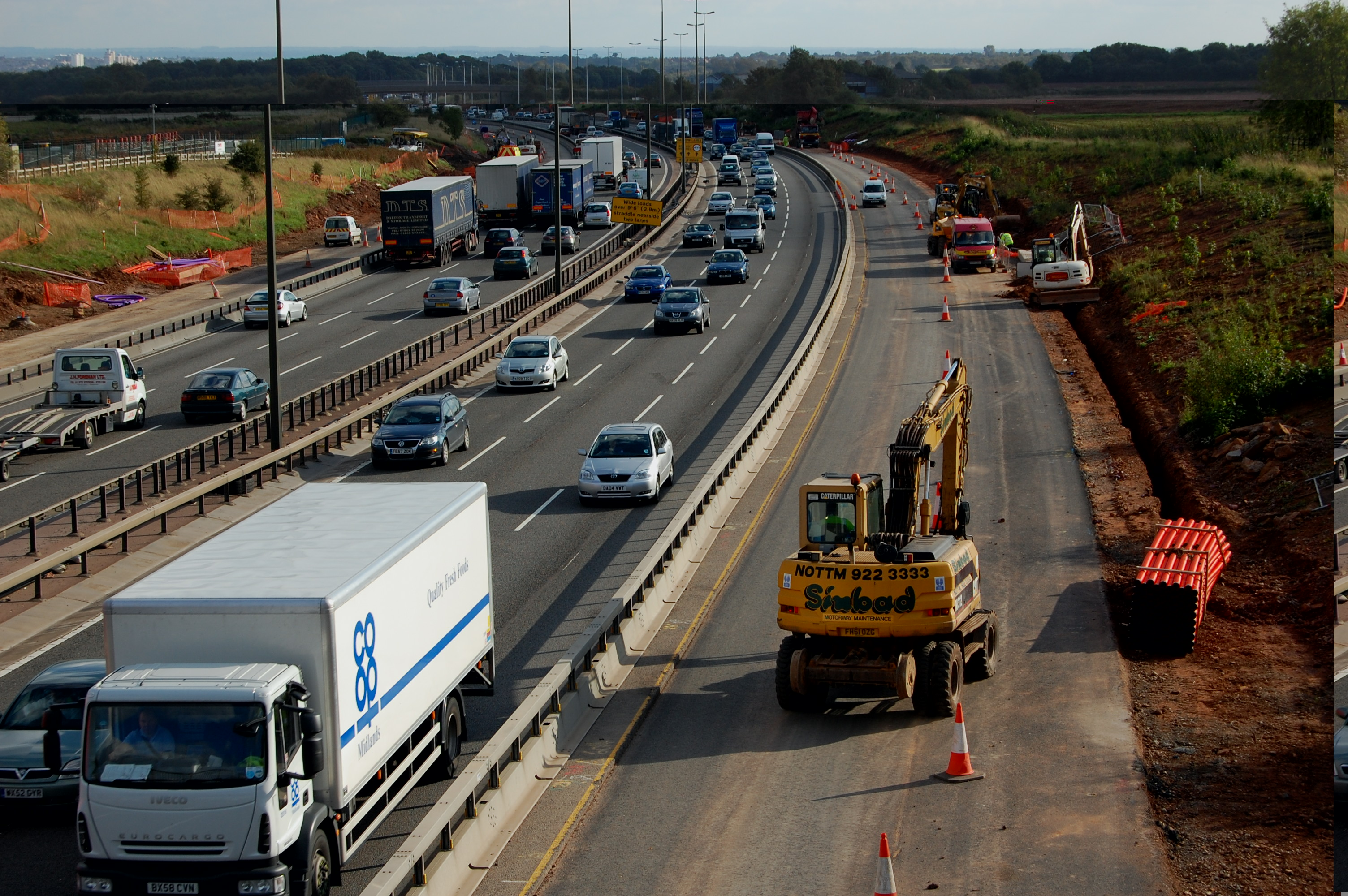 M1 widening MVM - The Logistics Business UK