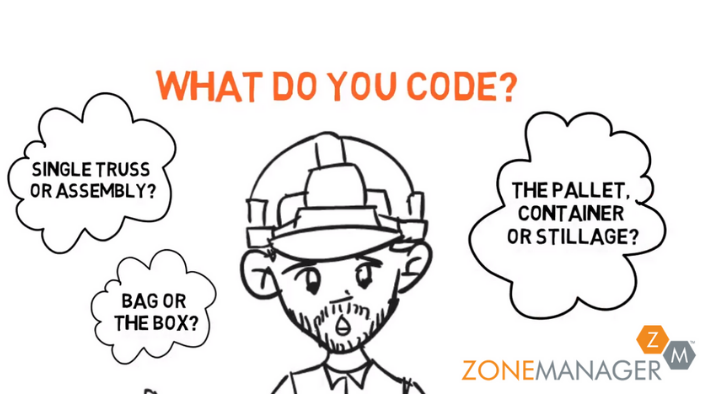 Zone Manager Barcodes in Construction